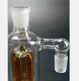 Conduite d'eau en verre ambre de collecteur de fumée de filtre de branchement d'arbre