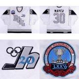 Оптовая торговля настроить Qmjhl Халл Olympiques мужская дети женщин 30 Тьерри Майер хоккей футболках Nikeid Goalit лучшее качество резки футболках NIKEID