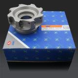 Corte de metal CNC de liga dura, cortador de fresagem quadrado, também pode fornecer inserção de marca