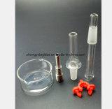 Pipe de fumage en verre pour le collecteur de miel de 4.7 pouces