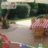 Plástico madera WPC techado, aplicada a la terraza y jardín