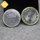 Moneta d'argento promozionale all'ingrosso su ordinazione dei fornitori della Cina