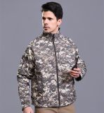 カラー人の冬の屋外のカムフラージュのジャケット、戦術的なジャケット