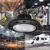 Luz elevada do louro do diodo emissor de luz do UFO do excitador de China 140lm/W 100W Hbg Meanwell