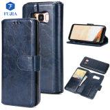 Couvercle de boîtier de téléphone de portefeuille en cuir pour iPhone X couvercle de boîtier de portefeuille en cuir