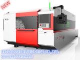 Máquina caliente del laser de la fibra de la fuente 1500W de la fábrica de la venta con el generador de Ipg para para corte de metales