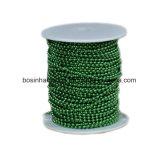 4 дюймовый стальной Никелированный металлический шарик цепь