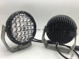 Líder de mercado soberbo 128W 7 polegadas LED redondos luz de condução (GT1015-128W)