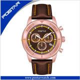 Acero inoxidable de alta gama de lujo Men's Watch de regalo