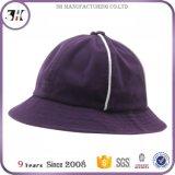 고품질 스웨드 6 위원회 Steepletop 자주색 겨울 물통 모자