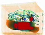 El doble de Generadores de rayos X vista doble sistema de detección de rayos X para el equipaje SA6550D