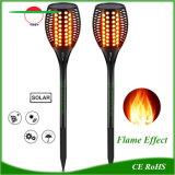 Linterna solar con 96 LED Lámpara Luz Flame-Like baile
