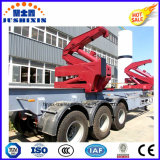 3axle Sideloader para o recipiente de 20FT 40FT 45FT