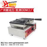Wafel die van de Vorm van de Vissen van de Machine van de Wafel van Taiyaki van het Roomijs van Korea de Enige Maker met Roestvrij staal 304 maken