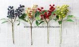 Hastes de Berry Artificial Bouques Casamento plantas artificiais de flores silvestres de casamento