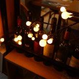 24 В постоянного тока 2.5meter индикатор черного цвета из ротанговой пальмы фонари для украшения
