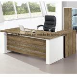 Стол офиса доски частицы с столом менеджера кухонного шкафа с шкафом