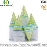 Commercio all'ingrosso tazza di carta del cono della neve dalle 4.5 once