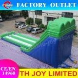Faites glisser gonflables géants, 20*6*8m de l'eau gonflable diapositive, faites glisser humide de qualité commerciale des adultes