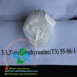 Hormonas esteroides (T3) anabólicas inyectables orales del CAS 55-06-1 del L-Triiodothyronine del 99% para los desordenes depresivos y la pérdida gorda