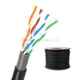 UTP CAT5e Gato de doble cable LAN al aire libre desnudos de cobre de 0,5 mm