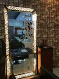 De hete Verkopende Spiegel van de Make-up van de Post van de Spiegel van het Kappen