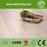La madera contrachapada dirigió el tecleo de bambú tejido hilo P-Easw07 del suelo