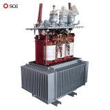 Trois phases de l'huile de 200kVA immergé transformateur avec Onan