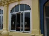 Двери и Windows алюминия серии Z70 складывая стеклянные