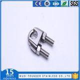 Acier inoxydable SS304 ou type clips de SS316 JIS de câble métallique