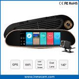 1080P 6,86'' do gravador de vídeo Sensor G Dash Carro Câmara Espelho Retrovisor