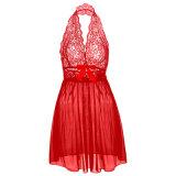 Женщины Sexy белья Corset с G-String 2 шт., платья нижнее белье Sleepwear плюс размер