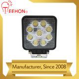 Indicatore luminoso del lavoro dell'indicatore luminoso 27W LED del lavoro del quadrato LED con contabilità elettromagnetica
