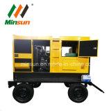 Комплект генератора Soundpoof трейлера Shangchai 120kw тепловозный для электростанции