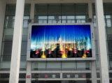 Alto brillo a todo color P4, pantalla LED curvada al aire libre de publicidad