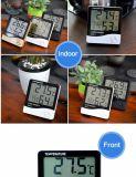 Gran pantalla LCD Esay operar hogar aligerar el termómetro digital