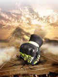 Gants de travail de sécurité mécanique Anti-Impact avec Sandy enduction nitrile