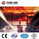 FEM/ISO Standard-YZ Typ 75/20~160/40t vier Träger-Gussteil/Gießerei-obenliegendes Reisen/Brückenkran für Stahlwerk