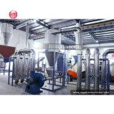 LDPE-überschüssige Plastikschrotte, die Maschinerie aufbereitend sich waschen