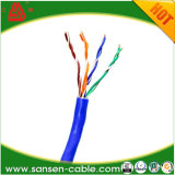 El cable 1000 FT. Cat5e UTP Cable CCA - Azul