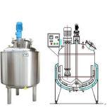 CE Lotion cuve de mélange à liquides fabriquent du matériel en acier inoxydable