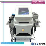 4 In1 Lipo Laser+ Cavitation+RF+Vacuum Lipolaser amincissant la machine