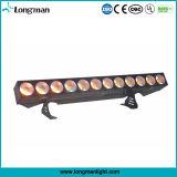 Nueva luz de la arandela de la pared de RGBW DMX 12PCS*25W LED