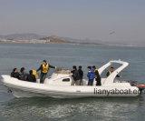 Boten van de Boten van de Rib van Liya 27FT de Militaire Militaire Opblaasbare voor Verkoop