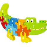 Wooden Children Educational Toy Dog Dolphin Animal Jigsaw Toys Puzzle