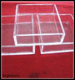 熱い販売法の透過石英ガラスのガラス容器の製造者