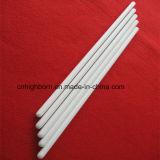 Tubo di ceramica di protezione dell'ossido di zirconio di elevata purezza