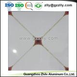 アルミニウム天井の金属によって中断される偽の装飾的な位置