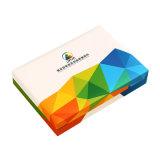 熱い販売のプラスチックペーパーによって印刷される記念する硬貨ボックス、記念品のギフト用の箱