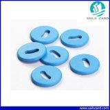 Botón de RFID de alta resistencia a la temperatura de la etiqueta de lavandería para lavar la industria